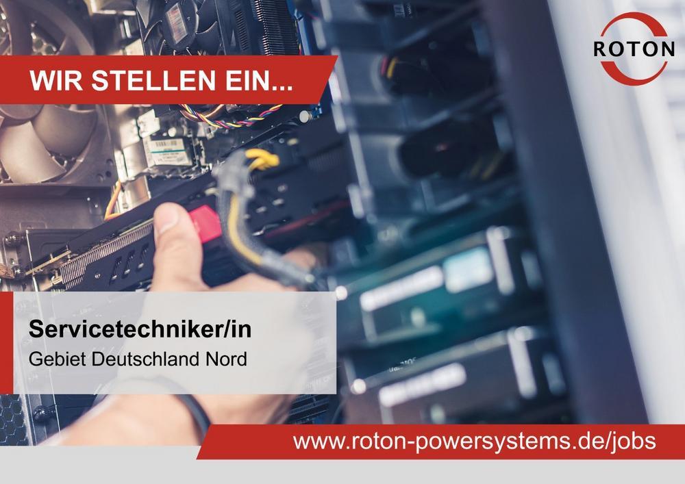 Servicetechniker im Außendienst (m/w/d) – Gebiet Deutschland Nord (Vollzeit | Hamburg)