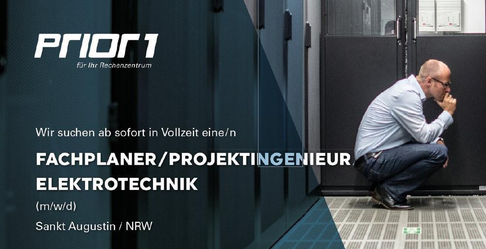 Fachplaner/Projektingenieur Elektrotechnik (Vollzeit | Sankt Augustin)