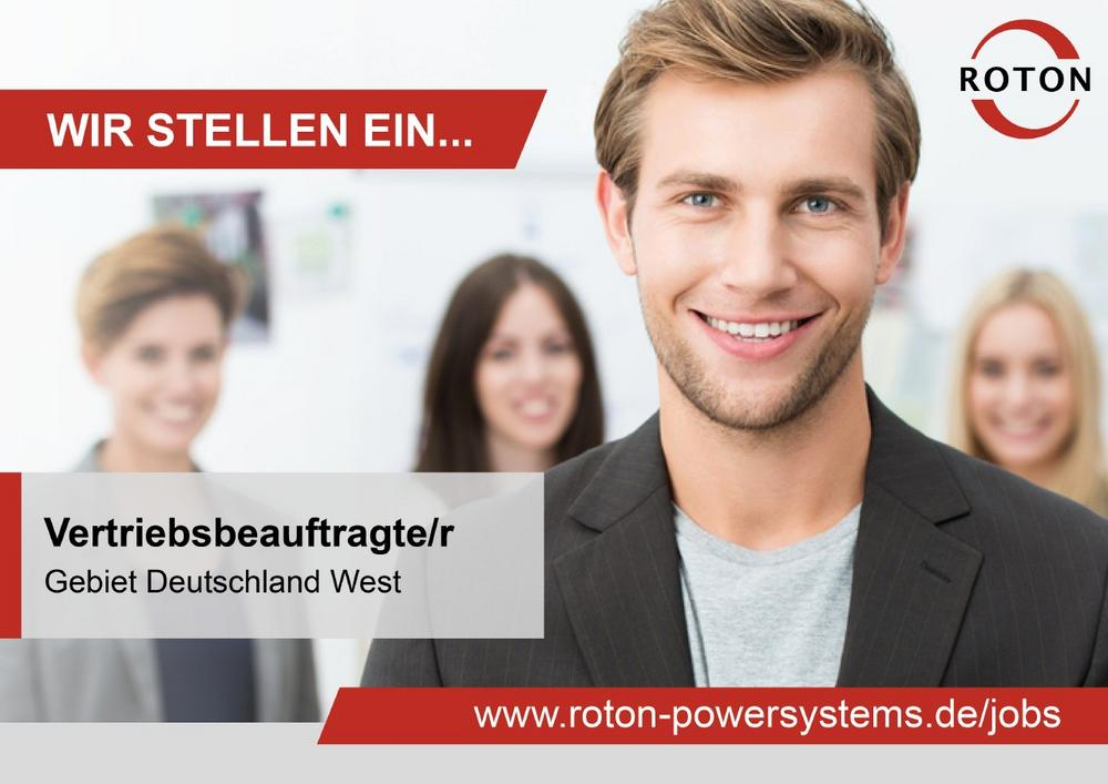 Vertriebsbeauftragte/r im Außendienst (m/w/d)  – Gebiet Deutschland West (Vollzeit | Köln)