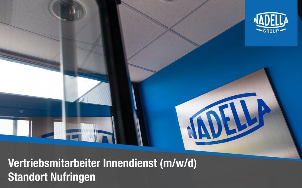 Vertriebsmitarbeiter Innendienst (m/w/d) (Vollzeit   Nufringen)