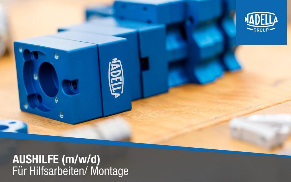 Aushilfe (m/w/d) für Hilfsarbeiten/Montage (Teilzeit | Nufringen)
