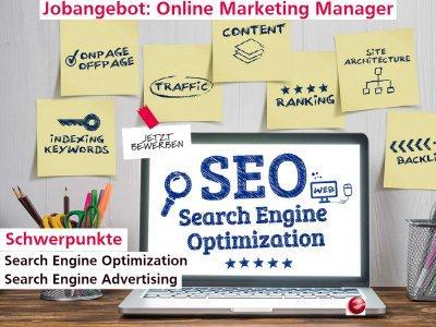 Online Marketing Manager (Schwerpunkt SEM, SEO, SEA) (Vollzeit | Hamburg)