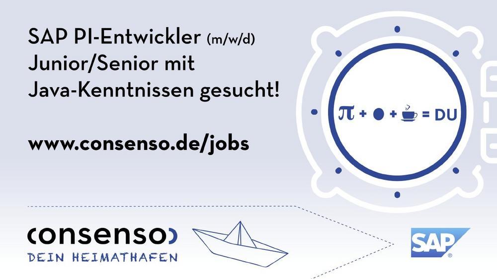 SAP PI Entwickler (m/w/d) Junior/Senior mit Java-Kenntnissen (Vollzeit   Bielefeld)