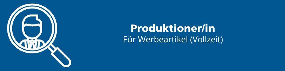 Produktioner/in (Vollzeit | Eichenau)